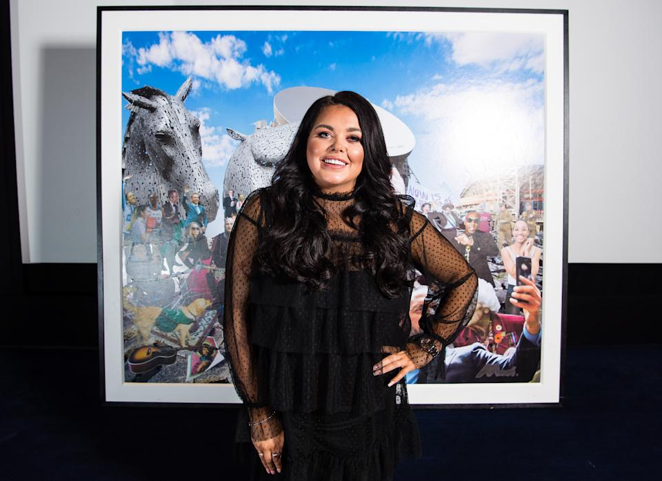 LONDON, ENGLAND - NOVEMBER 19:  Scarlett Moffatt attends a screening of the short film 'What Has The National Lottery Ever Done For Us?' to celebrate the National Lottery's 25th birthday at Charlotte Street Hotel on November 19, 2019 in London, England. (Photo by Jeff Spicer/Getty Images for The National Lottery)