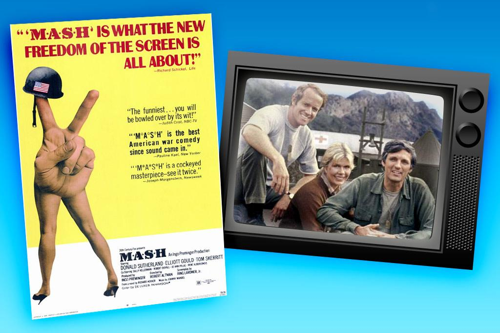 """Robert Altman's 1970 film """"<a href=""""http://movies.yahoo.com/movie/1800091499/info"""" rel=""""nofollow"""">MASH</a>"""" won over both critics and audiences with its mix of humor and the horrors of war — an especially potent concoction for a country in the middle of the Vietnam War. No one could've predicted, however, just how successfully it would translate to the small screen. Running from 1972 to 1983 and racking up 14 Emmys and a Peabody Award, the TV version """"<a href=""""/m-a-s-h/show/31881"""">M*A*S*H</a>"""" was so beloved that its series finale attracted a then-record 106 million viewers."""