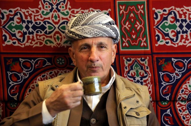 Iraqi Kurds are getting a taste for bitter coffee thanks to the influence of Syrian refugees (AFP Photo/SAFIN HAMED)