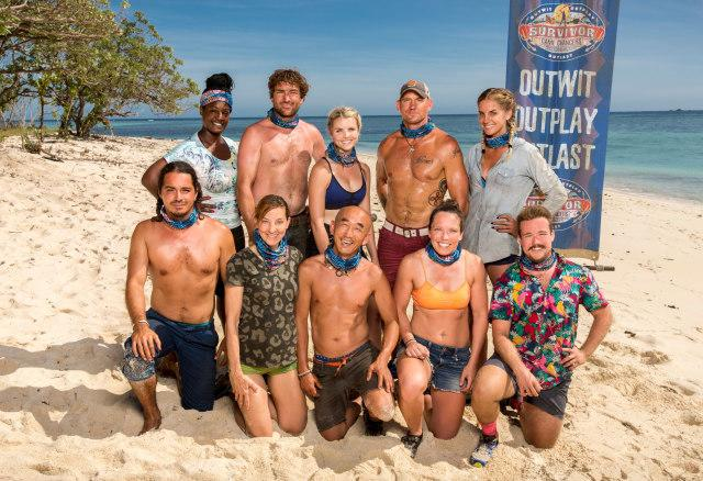 Nuku tribe cast photo for Survivor: Game Changers