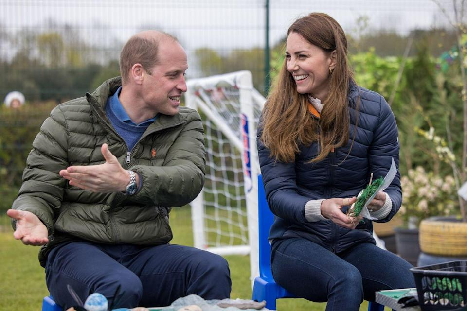 <p>The Duke and Duchess of Cambridge made an appearance at the Belmont Community Center in Durham, England. <br></p>