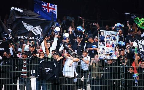 All Blacks supporters - Credit: GETTY IMAGES