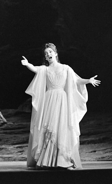 Opera singer Maria Callas, pictured performing 1964 in Paris, features in the documentary section of the Toronto Film Festival