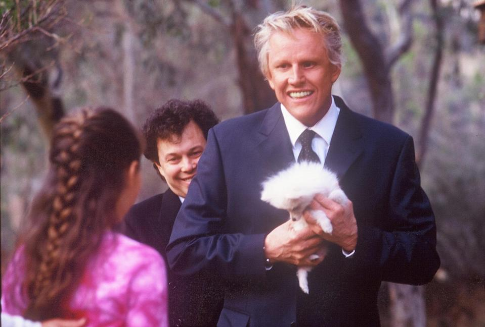 Gary Busey's heavenly Quigley (credit: Gaiam – Entertainment)