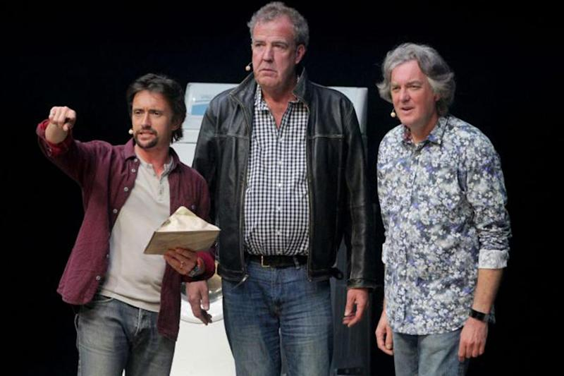 Richard Hammond, Jeremy Clarkson and James May (Picture: PA) (PA)