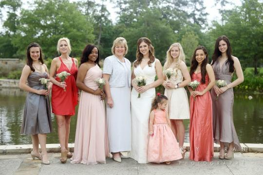 these women dressed an entire bridal party including the bride for 20