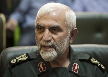 Head of the Mohammad Rasulallah Revolutionary guard base Hossein Hamedani attends a conference to mark the martyrs of terrorism in Tehran September 6, 2011. REUTERS/Morteza Nikoubazl