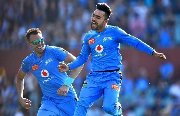 Rashid Khan grabbed his fifth T20 hattrick against the Sydney Sixers and turned the game on its head.