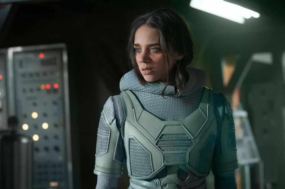 The character Ghost (Hannah John Kamen) is tied to Hank Pym and his history of hostile behaviour, says director Peyton Reed