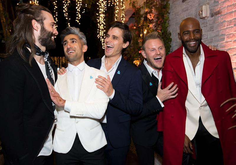 The cast of Netflix's Queer Eye