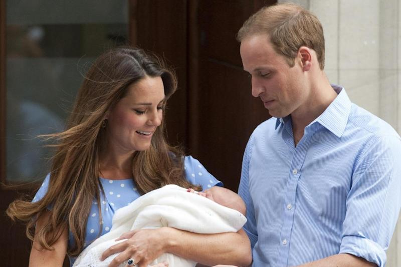 Royal: Prince George was born in the private wing of the hospital (Jeremy Selwyn)