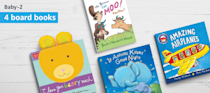 """<p>If you don't have time to comb through the bookstore month after month, you can set your kids' ages and book preferences and let Amazon editors do the work for you. <strong>Each box comes with either four board books or two hardcover books</strong>, and Amazon estimates you'll save 40% on the books' list price with the service.</p><p><em>$17+ per month<br>Ages: 0–12</em></p><p><a class=""""link rapid-noclick-resp"""" href=""""https://www.amazon.com/dp/B072J4QS9F?tag=syn-yahoo-20&ascsubtag=%5Bartid%7C10055.g.5093%5Bsrc%7Cyahoo-us"""" rel=""""nofollow noopener"""" target=""""_blank"""" data-ylk=""""slk:BUY NOW"""">BUY NOW</a></p><p><strong>RELATED: </strong><a href=""""https://www.goodhousekeeping.com/life/parenting/a28260356/stop-making-school-lunch/"""" rel=""""nofollow noopener"""" target=""""_blank"""" data-ylk=""""slk:Your Kids Should Make Their Own Lunches Starting in Third Grade, This Doctor Says"""" class=""""link rapid-noclick-resp"""">Your Kids Should Make Their Own Lunches Starting in Third Grade, This Doctor Says</a></p>"""