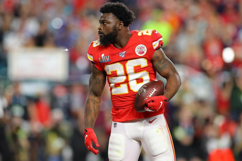Damien Williams said he opted out of the season to be with his mom, who has Stage IV cancer. (Photo by Kevin C. Cox/Getty Images)