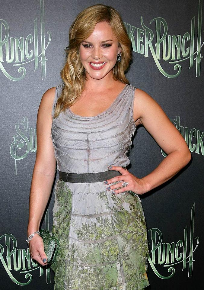 """August 7: Abbie Cornish (""""Limitless"""") turns 29. Don Arnold//<a href=""""http://www.wireimage.com"""" target=""""new"""">WireImage.com</a> - April 3, 2011"""