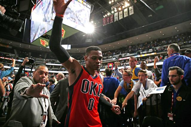 <p>Russell Westbrook's 2016-17 season was memorable and historic for many reasons, but where does it compare to some of the all-time performances? </p>