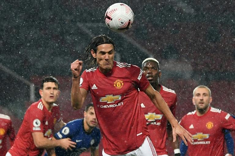 Manchester United striker Edinson Cavani made his debut against Chelsea