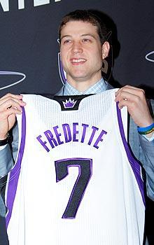 Jimmer Fredette, last season's college national player of the year, was drafted 10th
