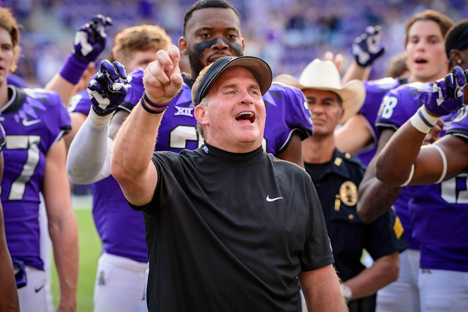 Gary Patterson has accused members of the SMU football team of injuring TCU assistant coach Jerry Kill.