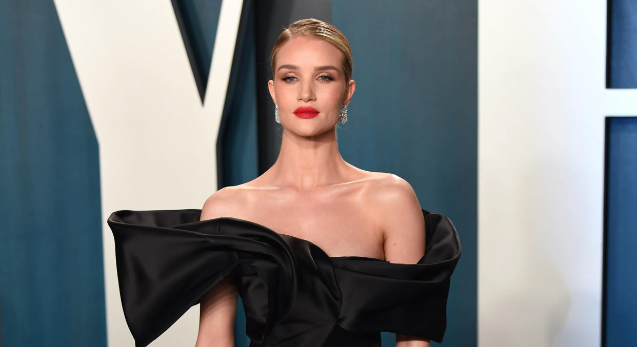 Rosie Huntington-Whiteley suggests women have a