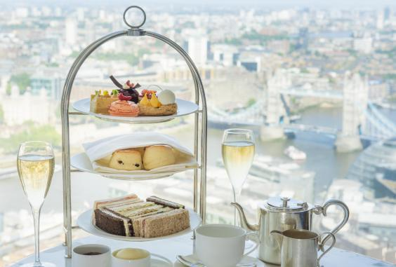 Enjoy panoramic views of London at Shangri-La at the Shard (Shangri-La at the Shard)