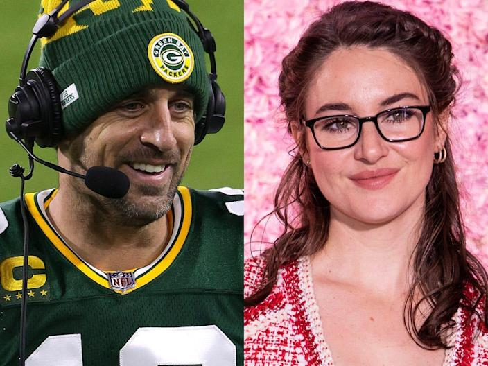 aaron rodgers and shailene woodley 3