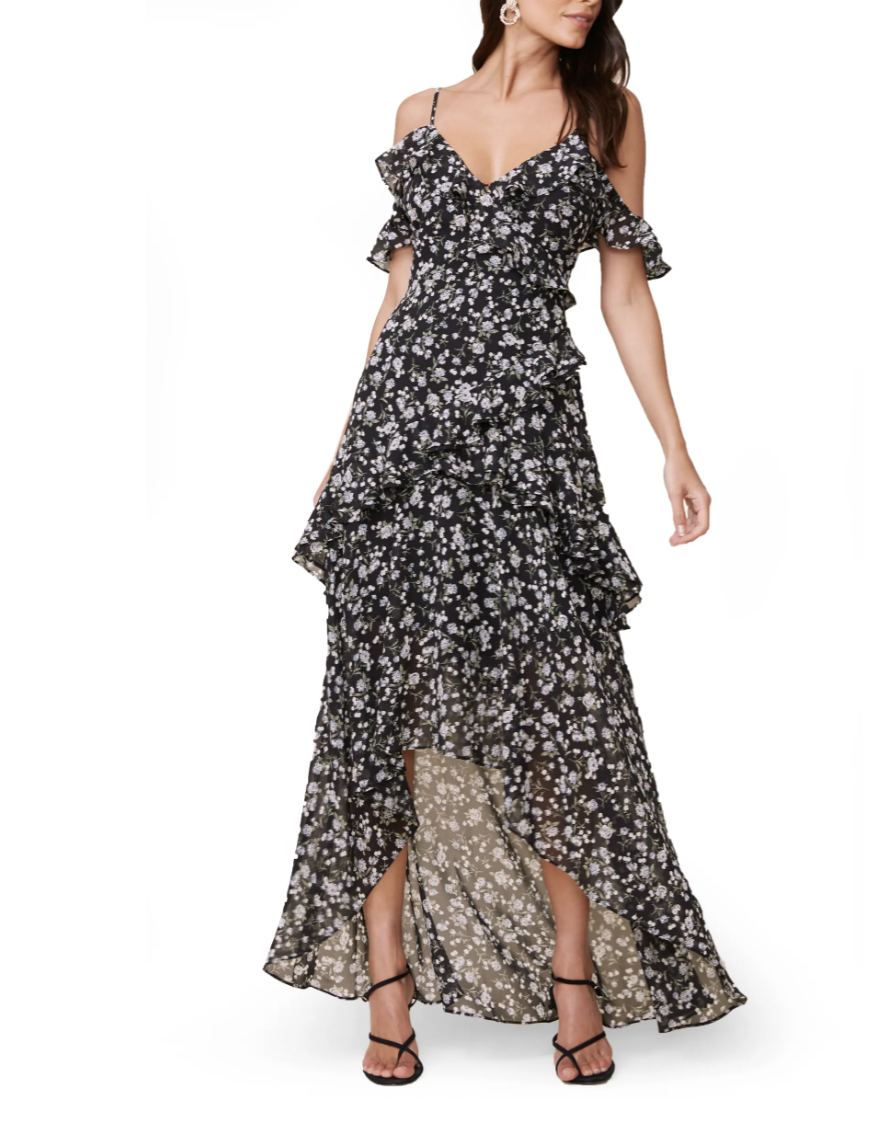 ASTR the Label High/Low Tiered Ruffle Maxi Dress- Nordstrom, $59 (originally $99)