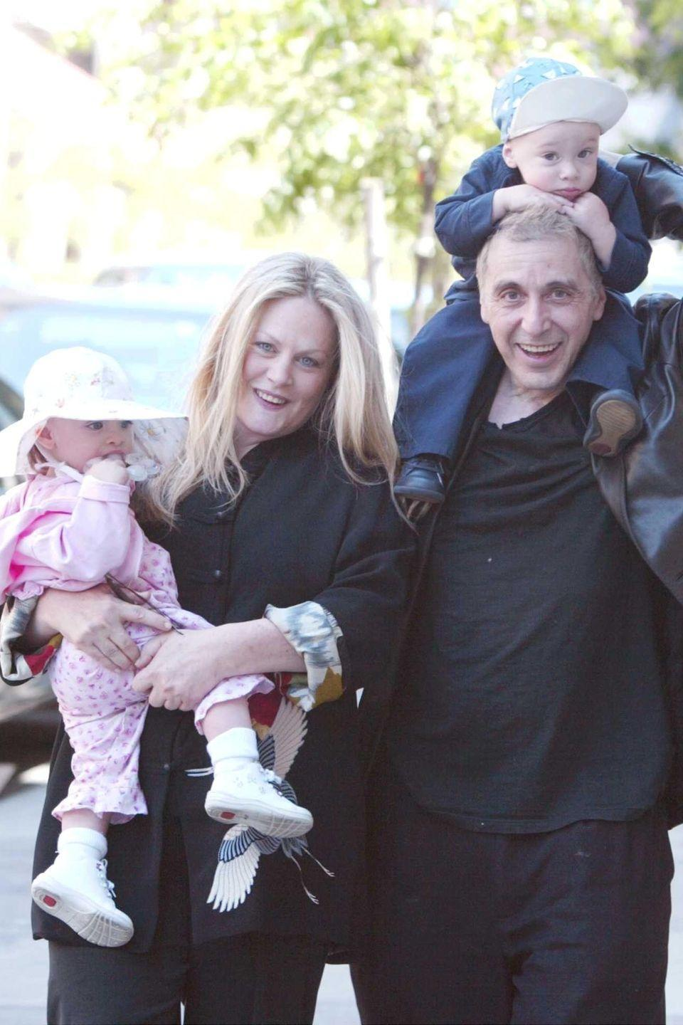 "<p>In 2001, Beverly D'Angelo gave birth to twins Anton and Olivia with husband Al Pacino. Though rapidly approaching 50, D'Angelo and Pacino say they were able to conceive using IVF. <a href=""http://people.com/archive/pacinos-bambinos-vol-55-no-6/"" rel=""nofollow noopener"" target=""_blank"" data-ylk=""slk:People"" class=""link rapid-noclick-resp""><em>People</em></a> reported that D'Angelo was nervous because of her age and was very uncomfortable at the end of her pregnancy, but ultimately gave birth to two healthy babies. </p>"