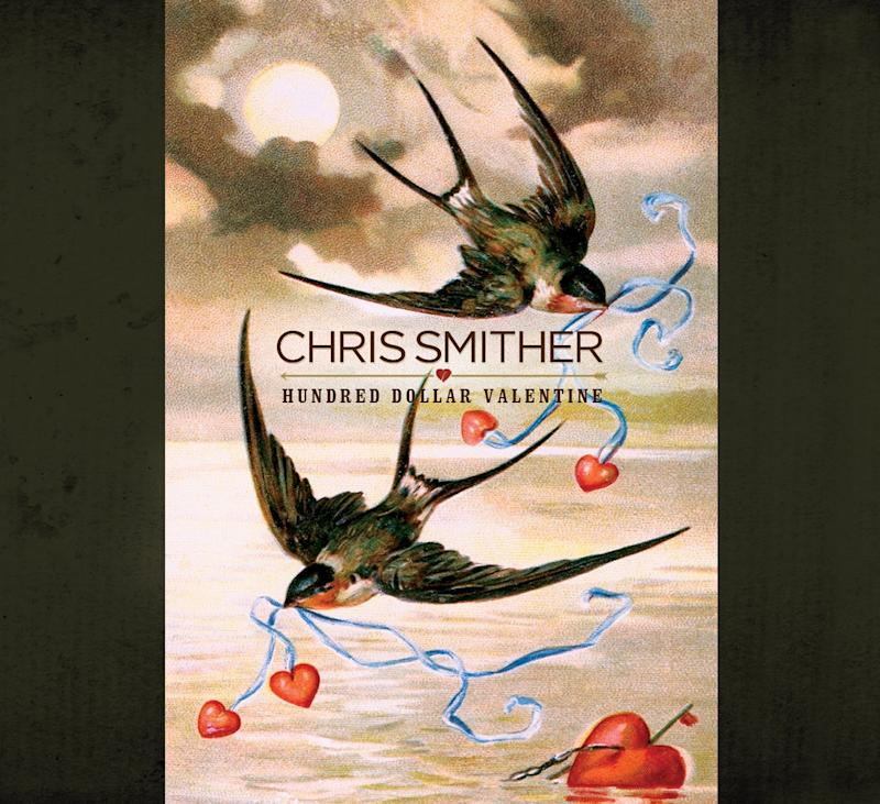 "This CD cover image released by Signature Sounds shows the latest release by Chris Smither, ""Hundred Dollar Valentine.""  (AP Photo/Signature Sounds)"