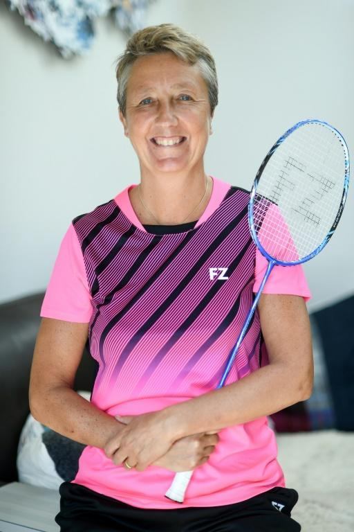 Badminton player Mary Wilson's Paralympic dream is on hold (AFP Photo/Andy Buchanan)