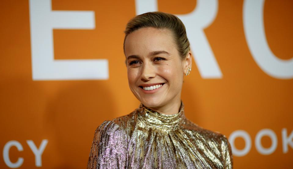 "Cast member Brie Larson attends a community screening for the film ""Just Mercy"" in Los Angeles, California, U.S., January 6, 2020. REUTERS/Mario Anzuoni  REFILE - CORRECTING DATE"