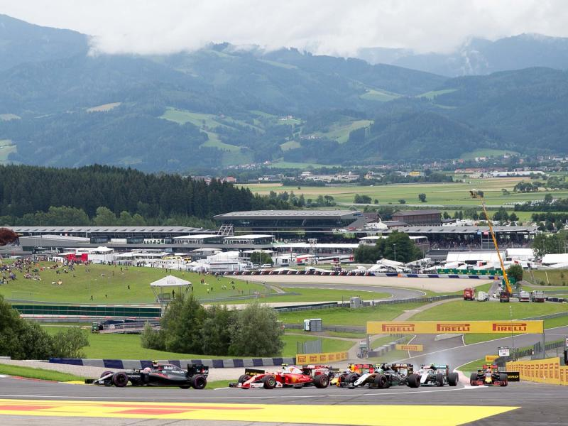 The Red Bull Ring stages the first race of the 2020 Formula One season: EPA