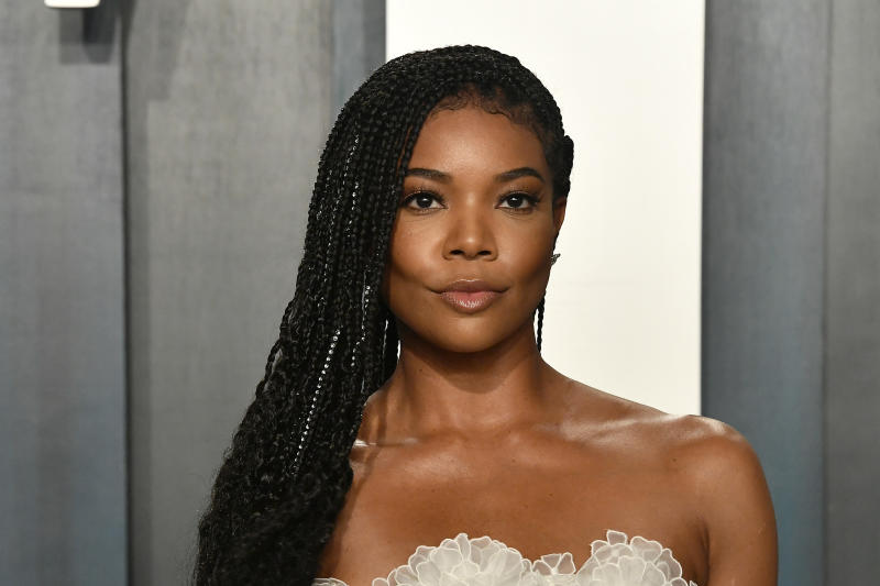 Gabrielle Union attends the 2020 Vanity Fair Oscar Party hosted by Radhika Jones at Wallis Annenberg Center for the Performing Arts on February 09, 2020 in Beverly Hills, California. (Photo by Frazer Harrison/Getty Images)