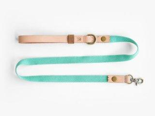 Ohpopdog natural leather and hemp cotton leash | Vanillapup