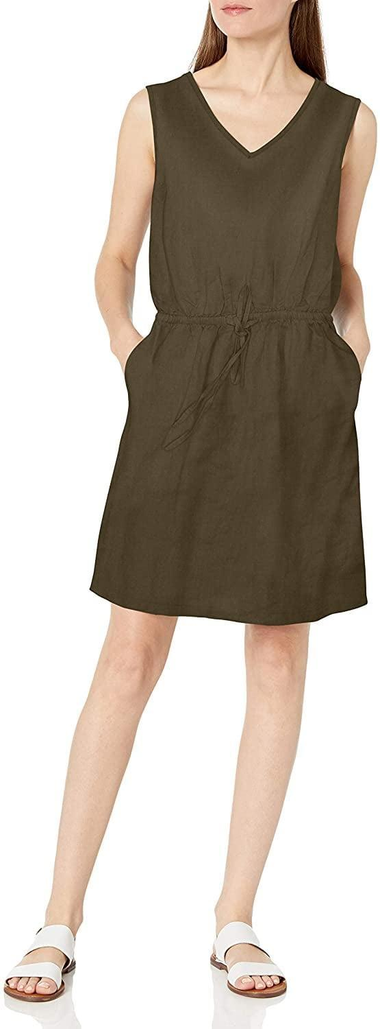 <p><span>Amazon Essentials Sleeveless Relaxed Fit Linen Dress</span> ($30 (plus 20% at checkout))</p>