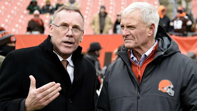 The Browns will have two of the top four picks in April's NFL Draft. The Bills have consecutive picks at 21 and 22.