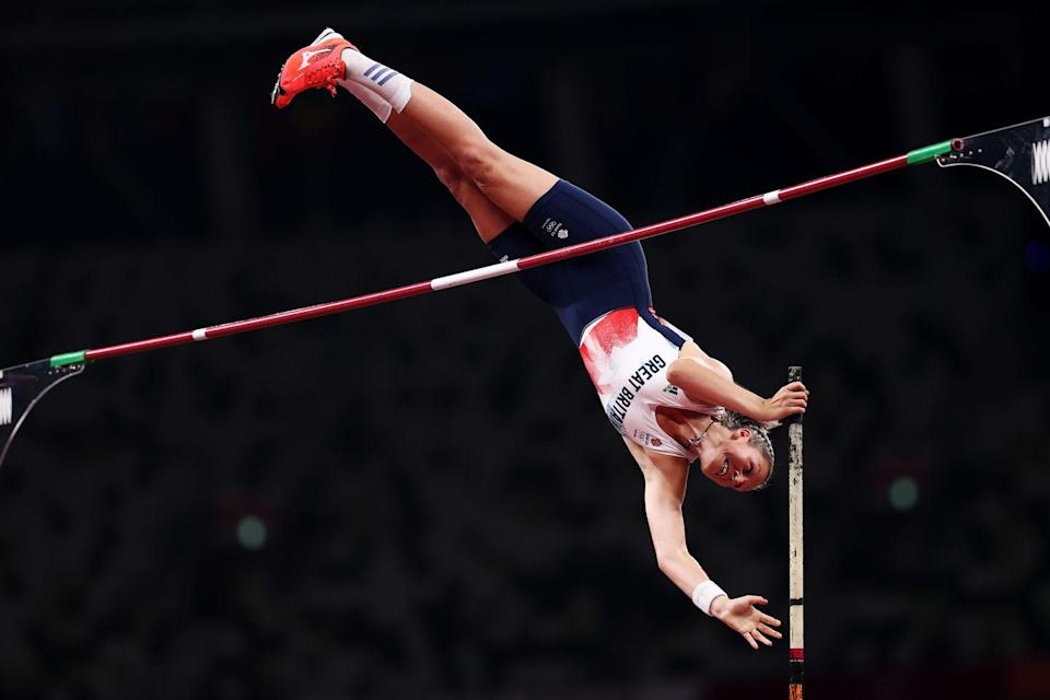 <p>29-year-old Holly Bradshaw cleared 4.85m on her first attempt to beat Greek defending champion Katerina Stefanidi in the pole vault final. She walked away with a bronze medal - the first team GB has ever secured from the sport.</p>