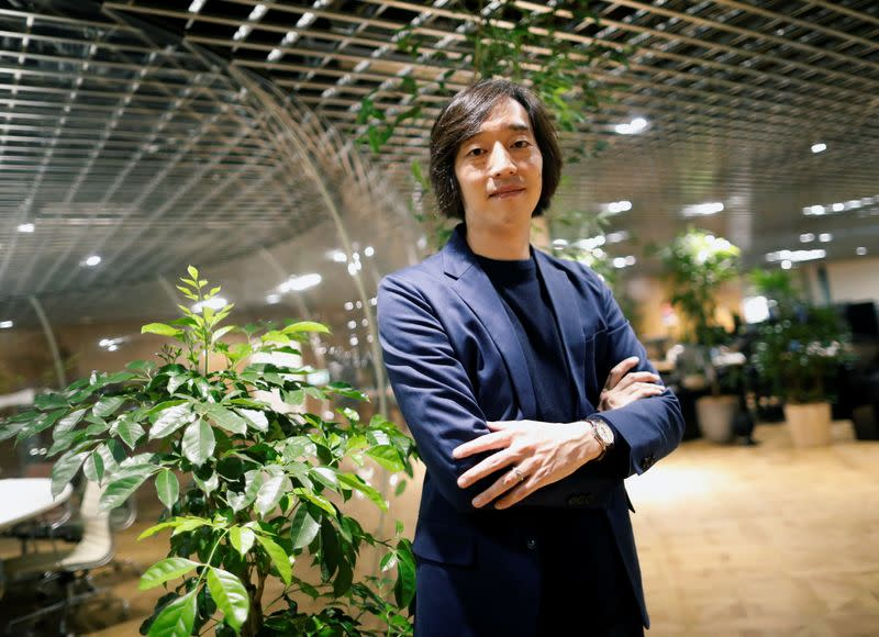Zozo Inc. Chief Operating Officer Masahiro Ito poses for a photograph during an interview with Reuters in Tokyo