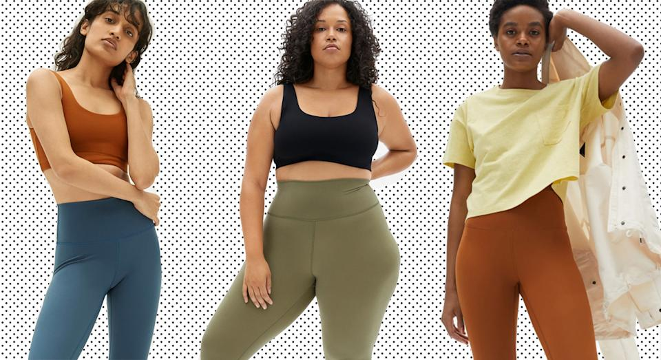 Everlane launches huge sale on their top-rated Perform Leggings.  (Everlane/ Yahoo Style UK)