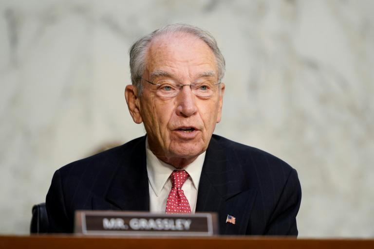 Republican US Senator Chuck Grassley, 87, has tested positive for the novel coronavirus