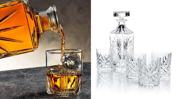The best gifts for men: Decanter Set.