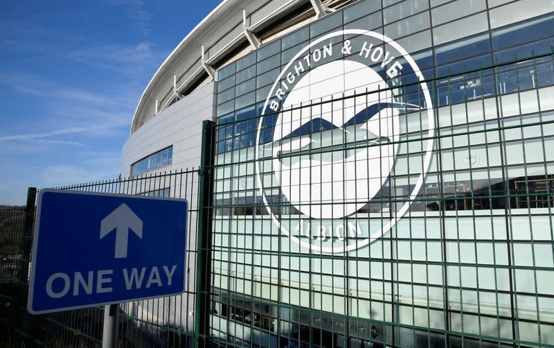 Brighton offer fans chance to feature at home games as cardboard cutouts