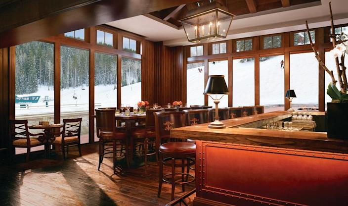 """<p><strong>Park City, Utah</strong></p><p>Watch people shred on the slopes as you warm up together at <strong><a href=""""https://www.montagehotels.com/deervalley/dining/apex/"""" rel=""""nofollow noopener"""" target=""""_blank"""" data-ylk=""""slk:Apex"""" class=""""link rapid-noclick-resp"""">Apex</a></strong>. A high-end restaurant in the Montage Deer Valley, it's an amazing getaway from your everyday meal. Just take a look at the menu, and your mouth will be watering as much as ours is right now. </p><p><strong>RELATED: </strong><a href=""""https://www.goodhousekeeping.com/life/g34313699/best-winter-activities/"""" rel=""""nofollow noopener"""" target=""""_blank"""" data-ylk=""""slk:The 25 Best Winter Activities to Keep Yourself Occupied"""" class=""""link rapid-noclick-resp"""">The 25 Best Winter Activities to Keep Yourself Occupied</a></p>"""