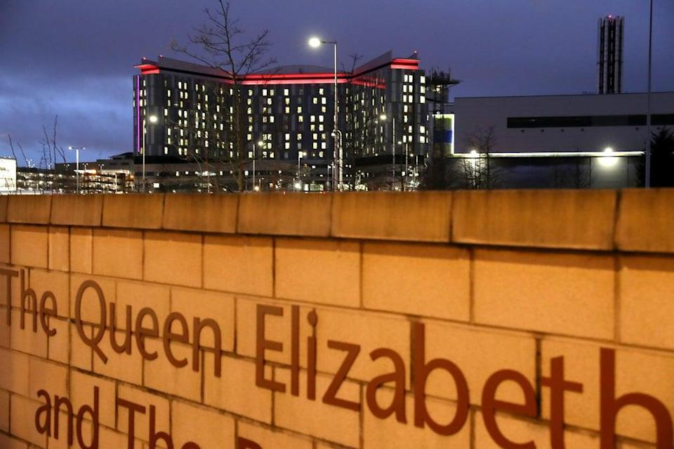 The inquiry is looking into constructions problems at the Queen Elizabeth University Hospital in Glasgow (Andrew Milligan/PA) (PA Archive)