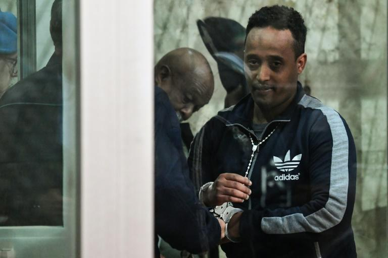 "Eritrean national Medhanie Yehdego Mered was cleared of being ""the General"" of one of the world's largest migrant trafficking networks (AFP Photo/Andreas SOLARO)"