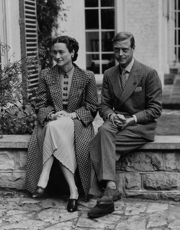 Bessie Wallis Warfield Simpson and King Edward VII