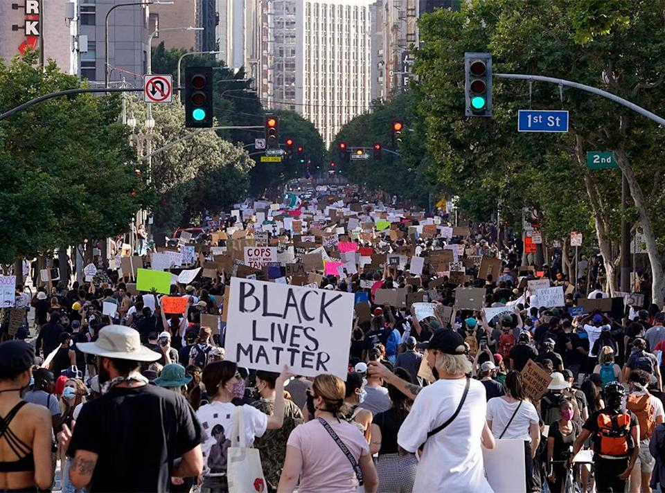 George Floyd Protest, Black Lives Matter Feature