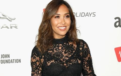 Myleene Klass attends the Virgin Holiday's Attitude Awards 2017 at The Roundhouse on October 12, 2017 in London - Credit: Getty