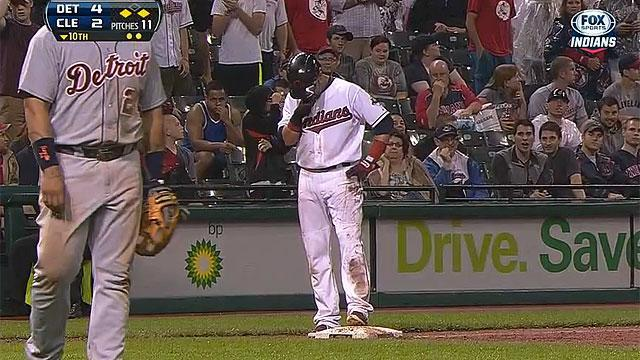 Nick Swisher's embarrassing night in Cleveland