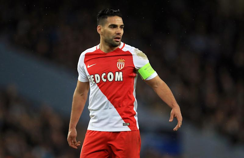 Radamel Falcao is one of Monaco's more experienced players