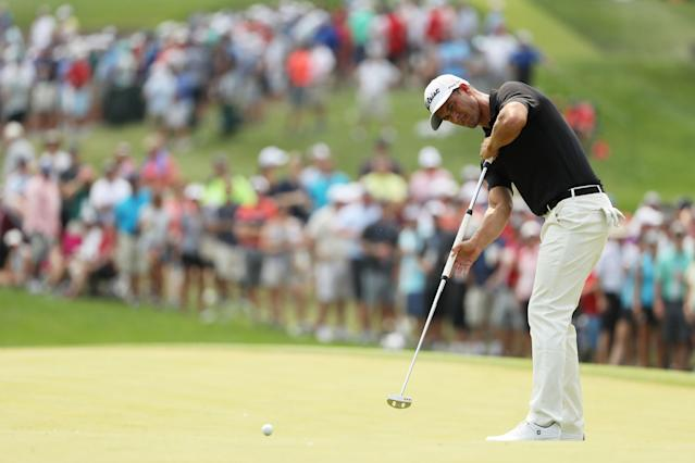 "<div class=""caption""> Scott thinks his struggles with his putting won't be as troublesome this week given Bethpage's relatively flat greens. </div> <cite class=""credit"">Streeter Lecka/PGA of America</cite>"